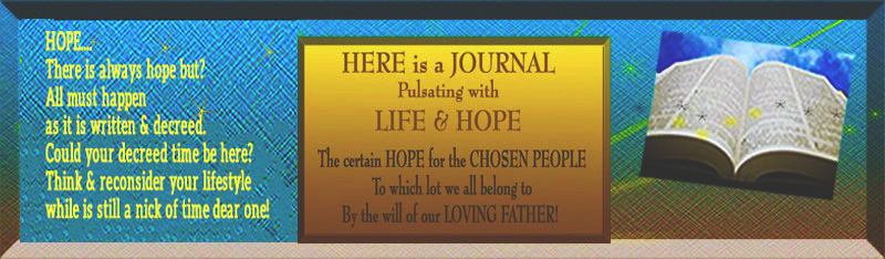 Header Old Journal Hope Bible