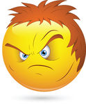 angry face