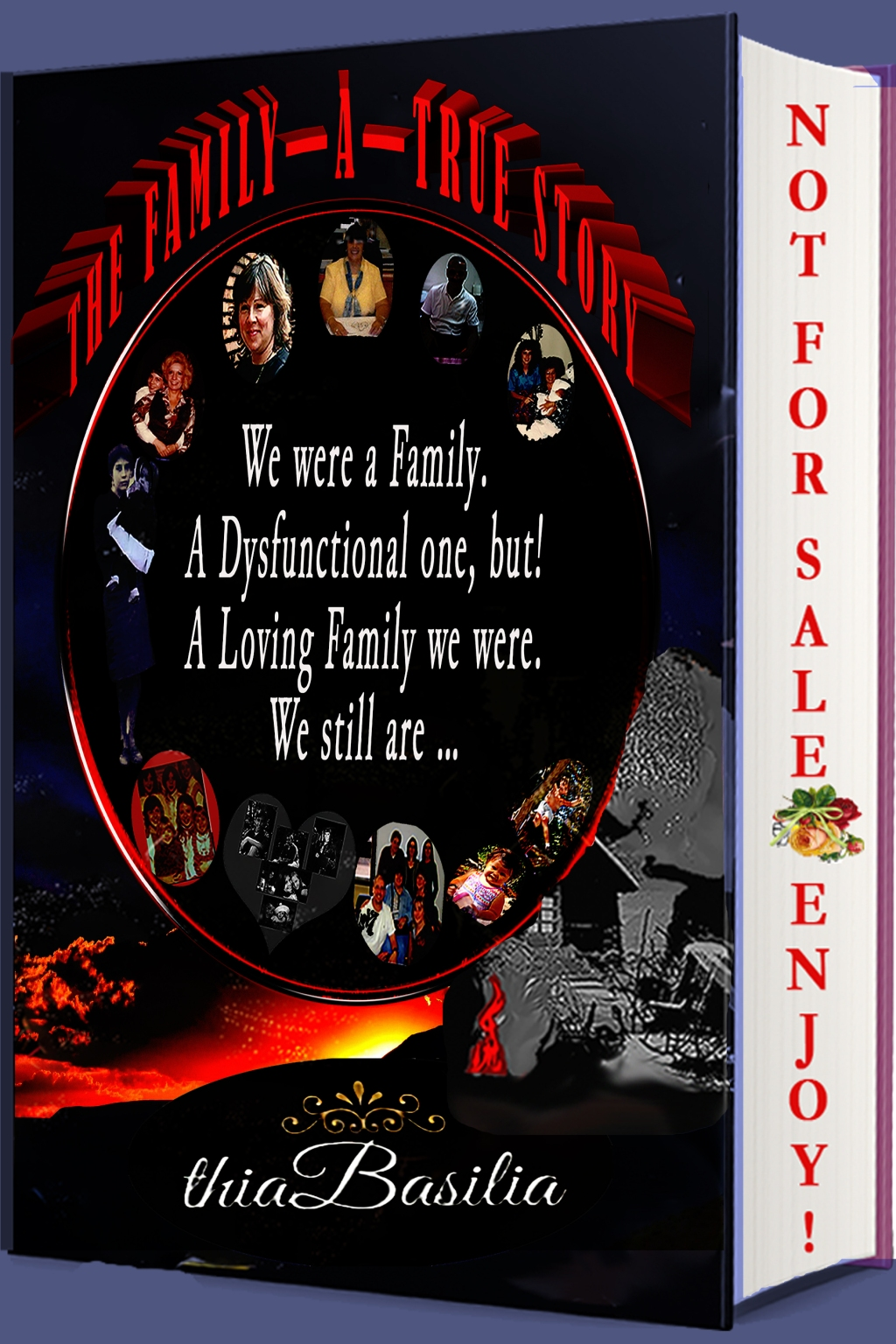 00000000000 Bookcover NEW FINISHED 3D RED on Mockup 056 The Family A True Story